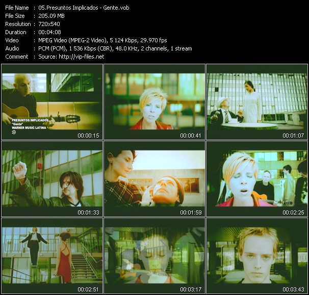 Presuntos Implicados video screenshot