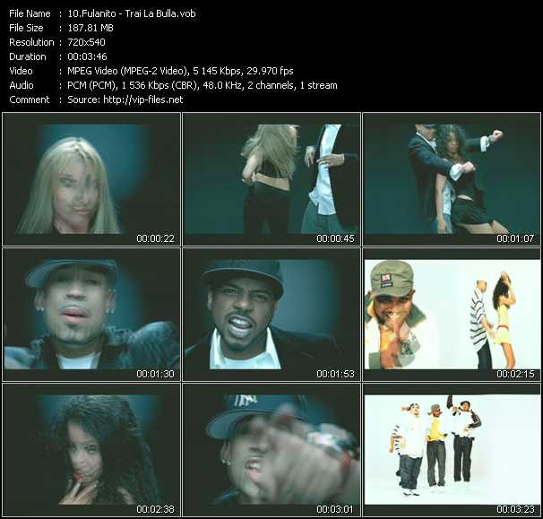 Fulanito video screenshot