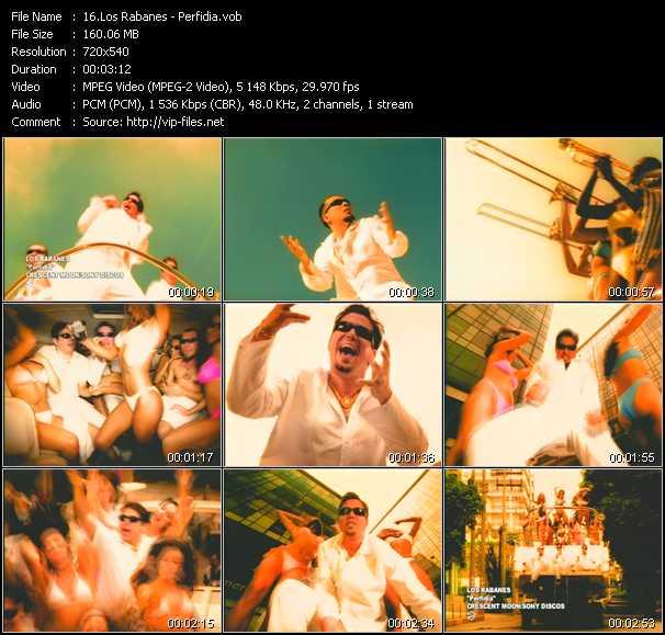 Los Rabanes video screenshot