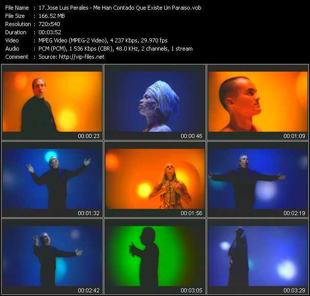 Jose Luis Perales video screenshot