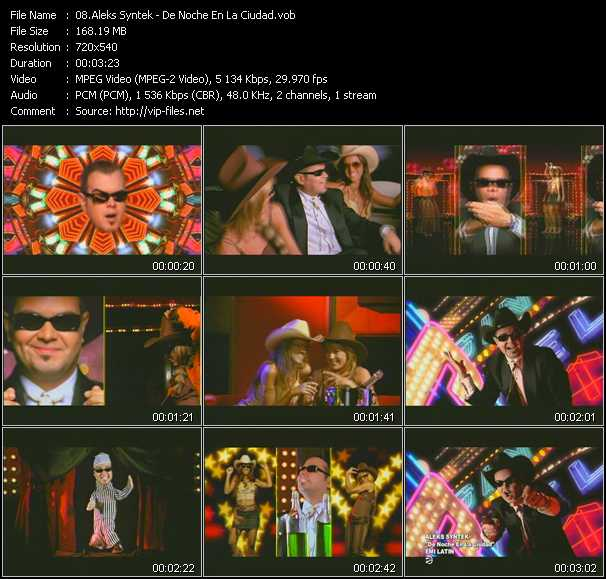 Aleks Syntek video screenshot