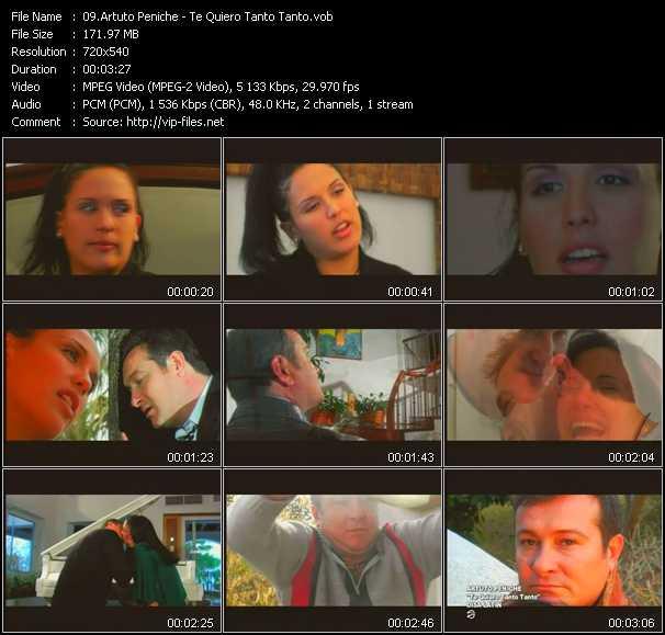 Artuto Peniche video screenshot