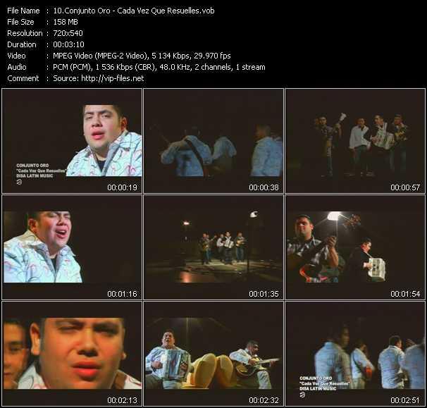 Conjunto Oro video screenshot