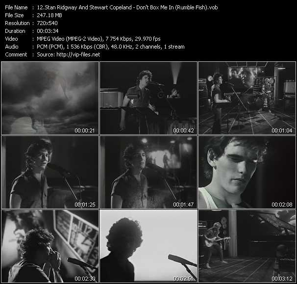 Stan Ridgway And Stewart Copeland video screenshot