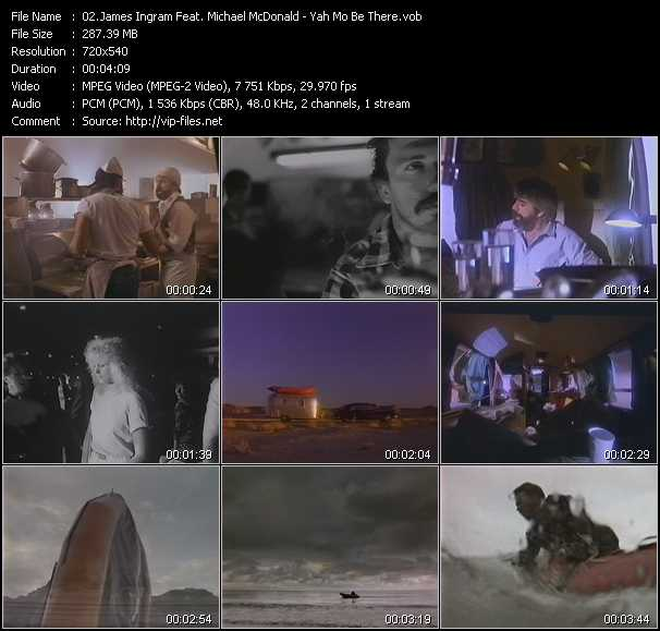 James Ingram Feat. Michael McDonald video screenshot