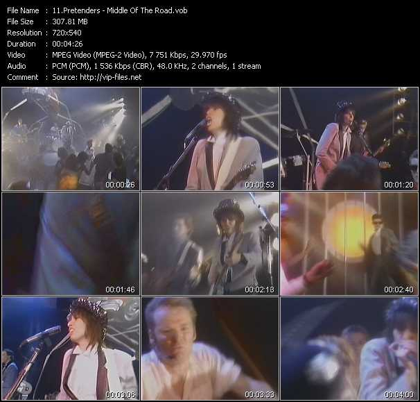 Pretenders video screenshot