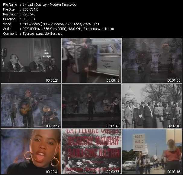 Latin Quarter video screenshot