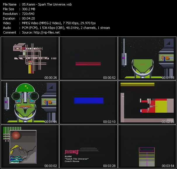 Ramm video screenshot