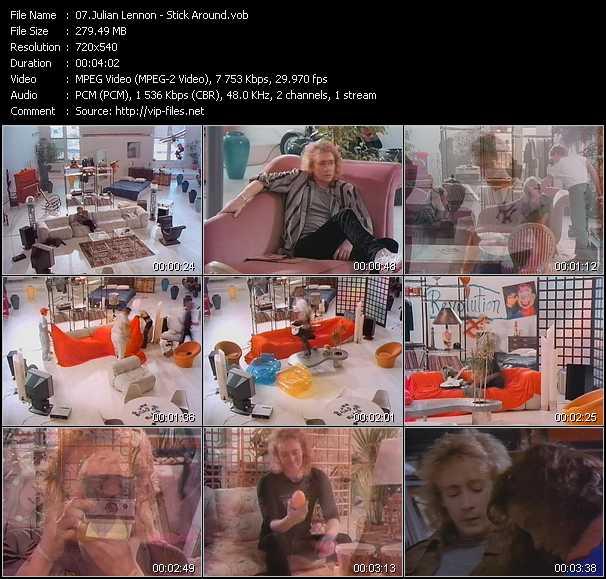 video Stick Around screen