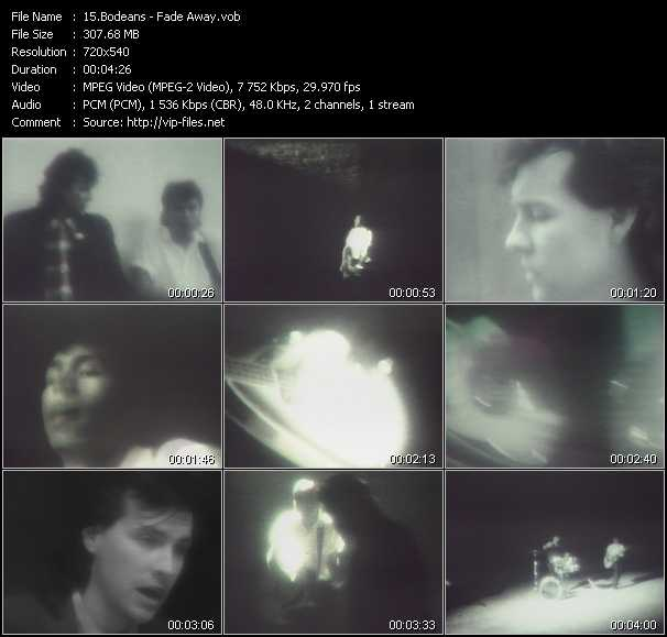 BoDeans video screenshot