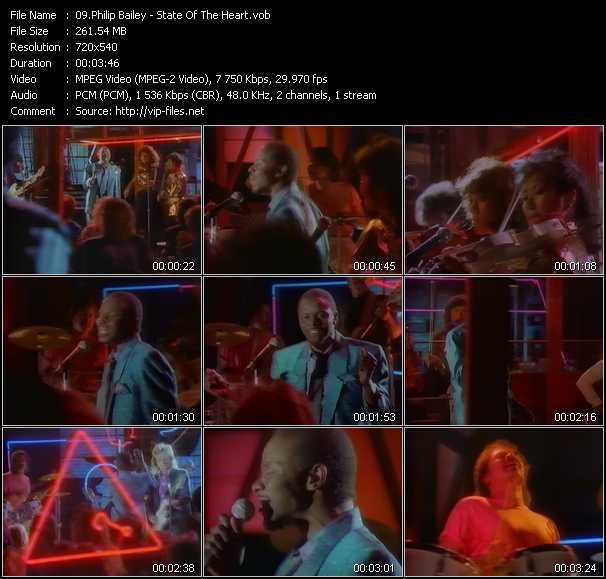 Philip Bailey video screenshot