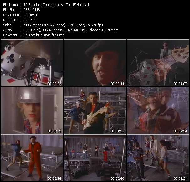 Fabulous Thunderbirds video screenshot