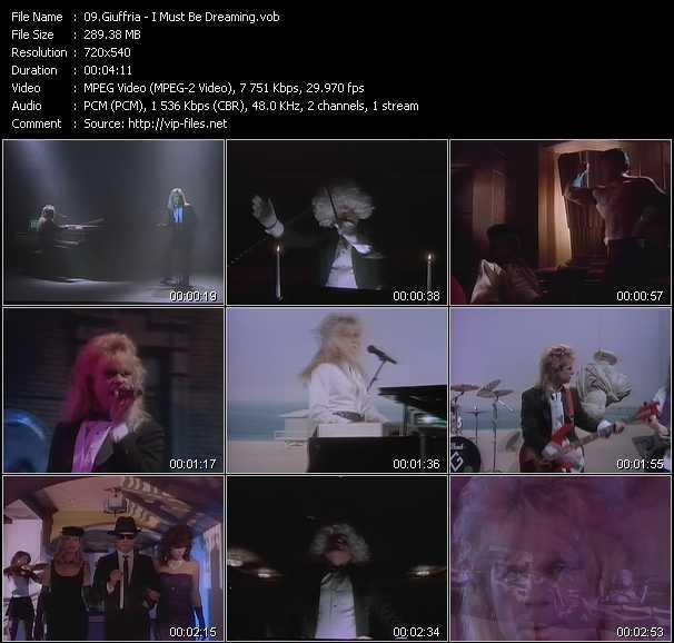 Giuffria video screenshot