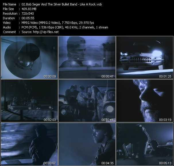 Bob Seger And The Silver Bullet Band video screenshot