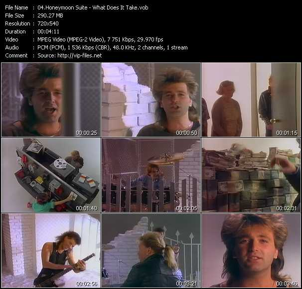 Honeymoon Suite video screenshot