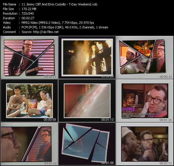 Jimmy Cliff And Elvis Costello video screenshot