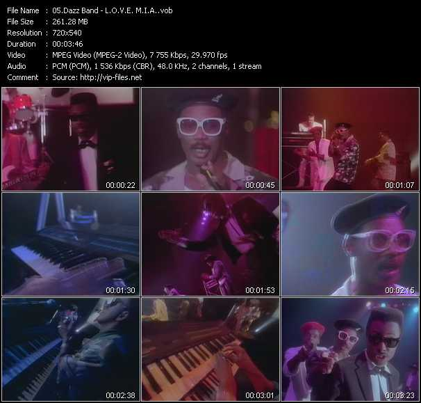 Dazz Band video screenshot