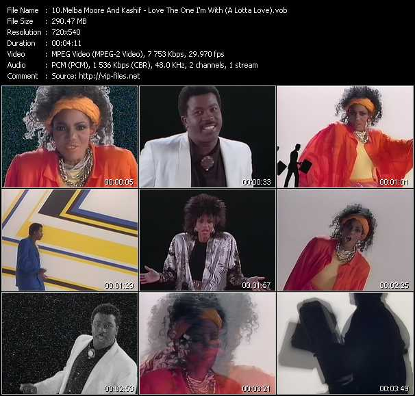 Melba Moore And Kashif video screenshot