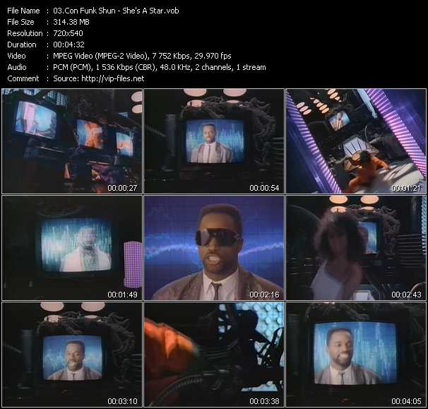 Con Funk Shun video screenshot