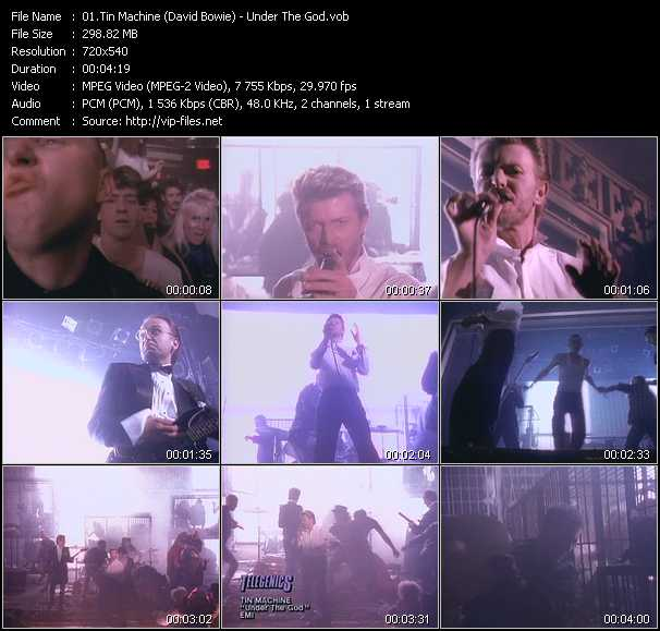 Tin Machine (David Bowie) video screenshot