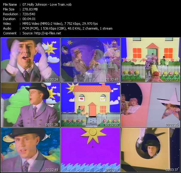 Holly Johnson video screenshot