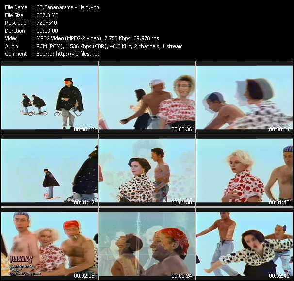 Bananarama And Lananeeneenoonoo video screenshot
