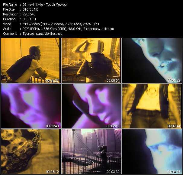 Kevin Kylie video screenshot