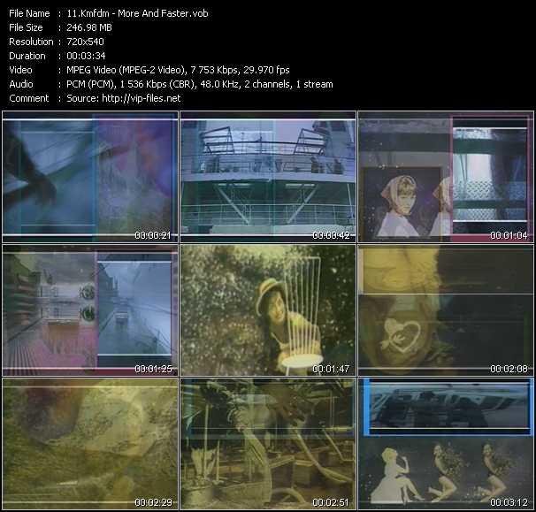 Kmfdm video screenshot