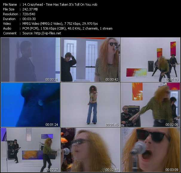 Crazyhead video screenshot