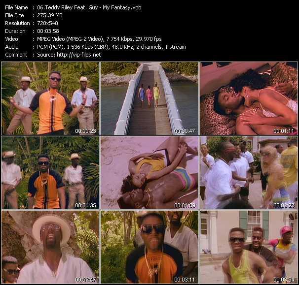 Teddy Riley Feat. Guy video screenshot