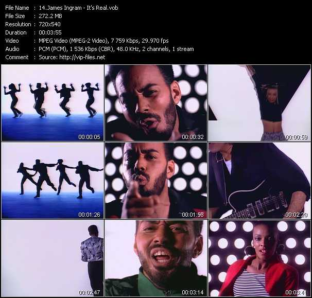 James Ingram video screenshot