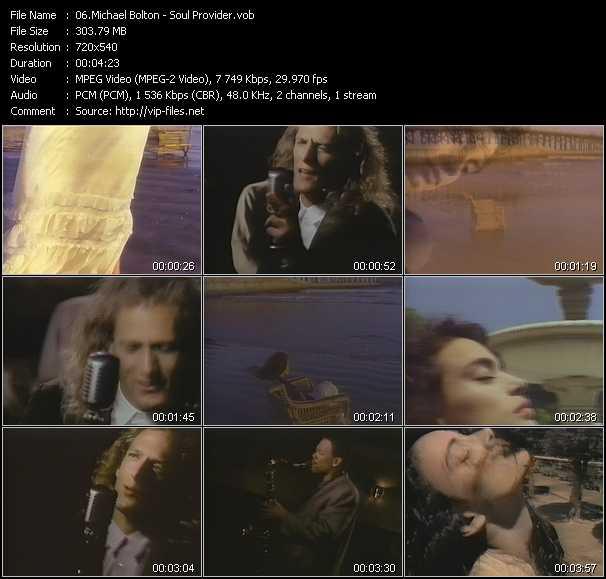 video Soul Provider screen