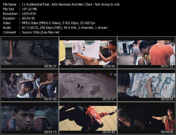 Rudimental Feat. John Newman And Alex Clare video screenshot