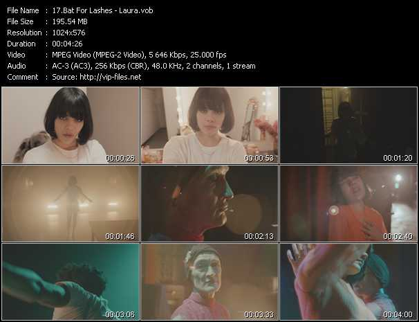 Bat For Lashes video screenshot