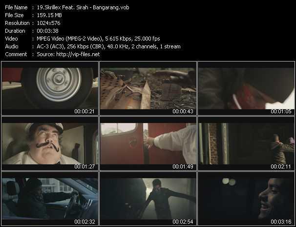Skrillex Feat. Sirah video screenshot