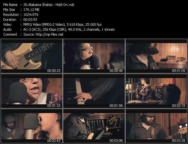 Alabama Shakes video screenshot