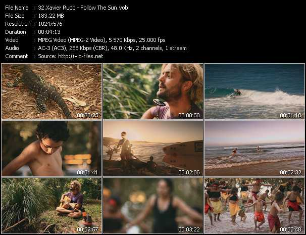 Xavier Rudd video screenshot