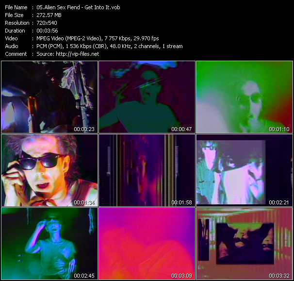 Alien Sex Fiend video screenshot