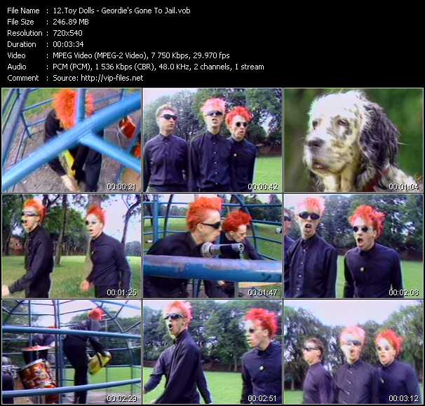 Toy Dolls video screenshot