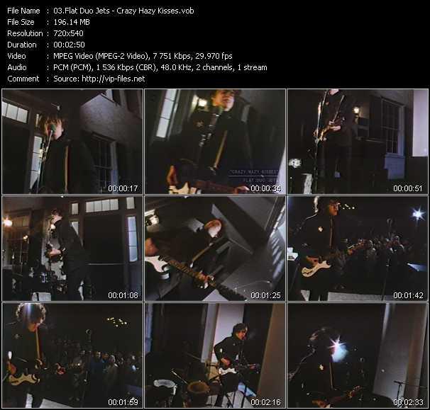 Flat Duo Jets video screenshot