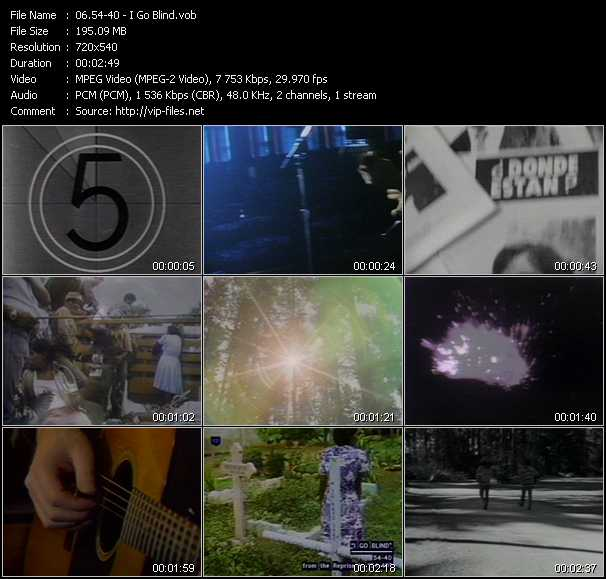 54-40 video screenshot