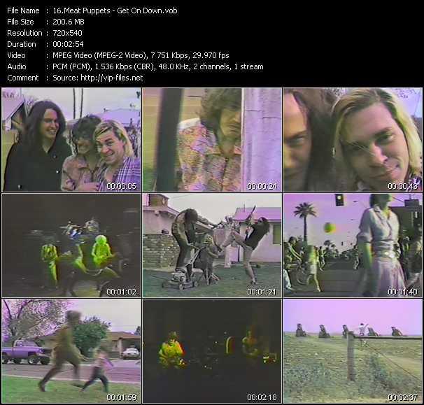 Meat Puppets video screenshot