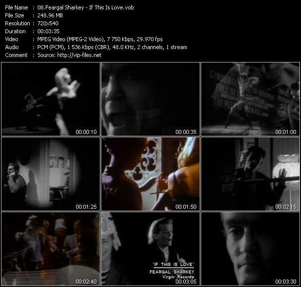 Feargal Sharkey video screenshot