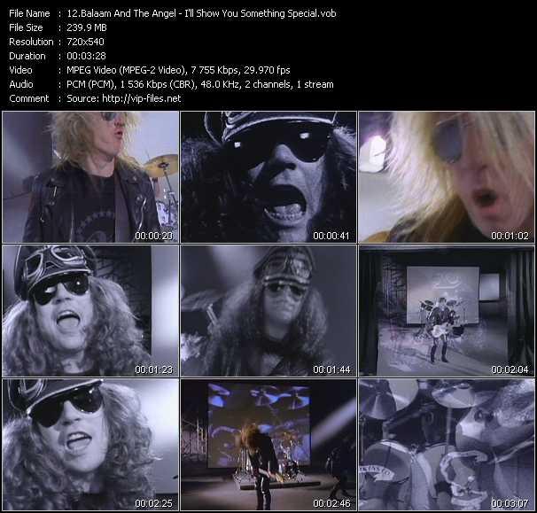Balaam And The Angel video screenshot