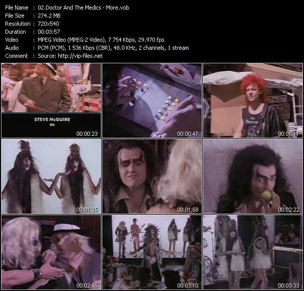 Doctor And The Medics video screenshot
