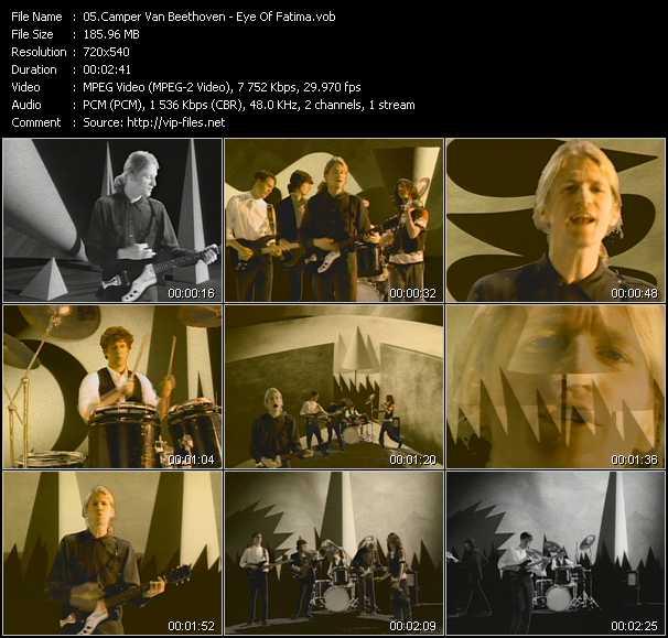 Camper Van Beethoven video screenshot