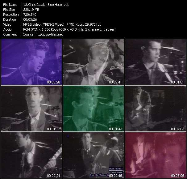 Chris Isaak video screenshot