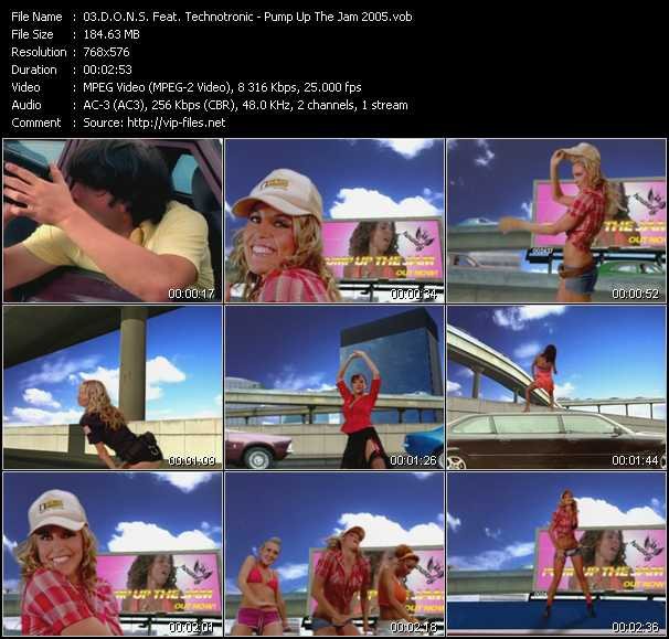 D.O.N.S. Feat. Technotronic video screenshot