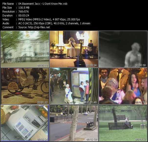 Basement Jaxx video screenshot
