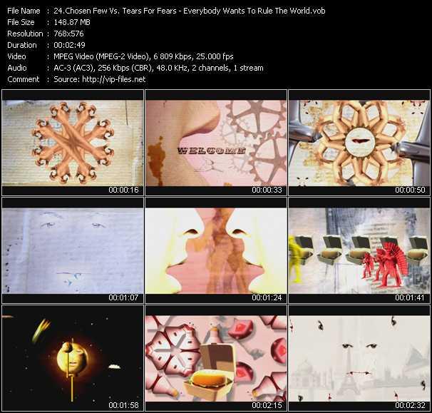 Chosen Few Vs. Tears For Fears video screenshot